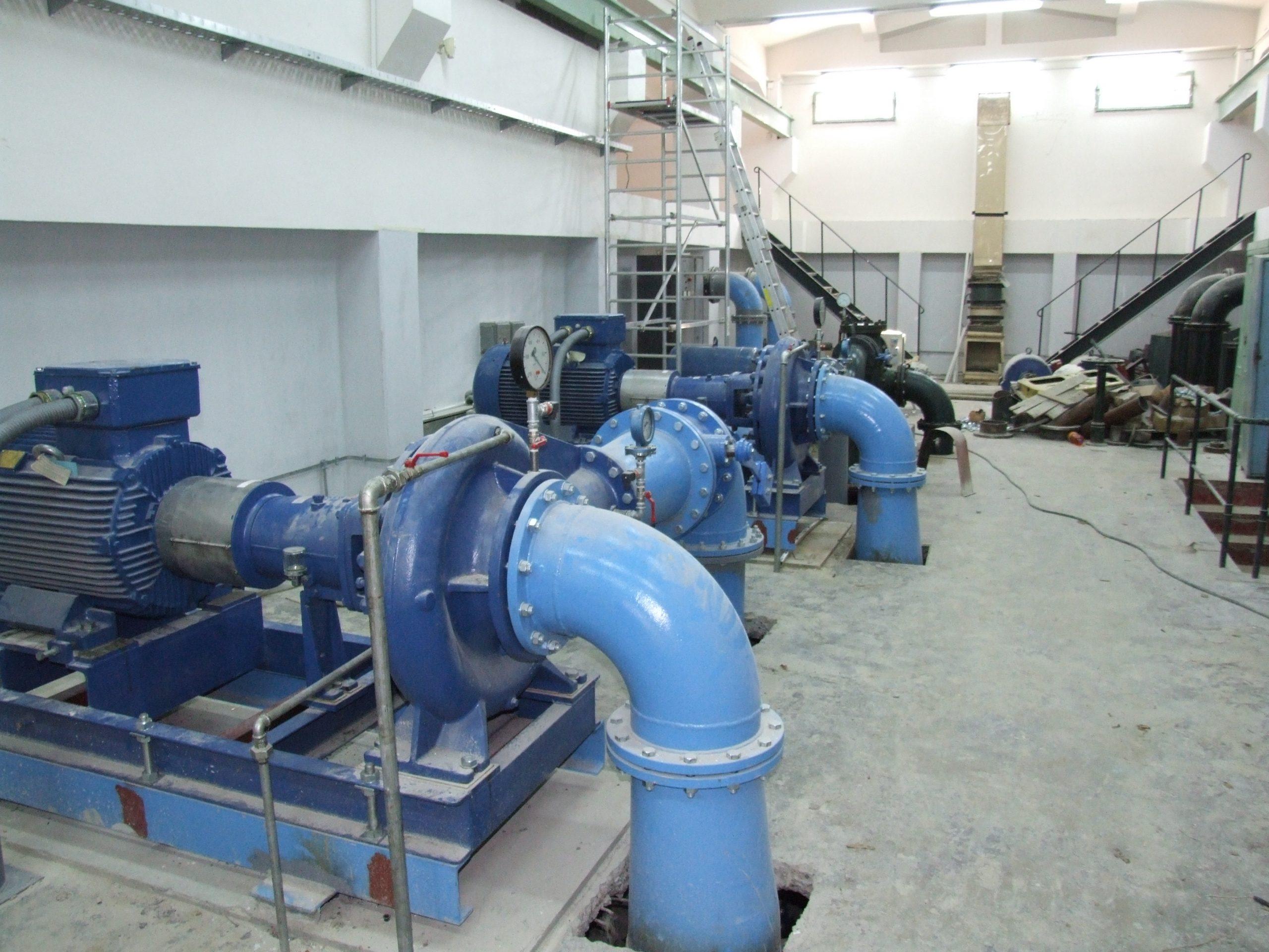 Regulacija pumpne stanice Dedinje