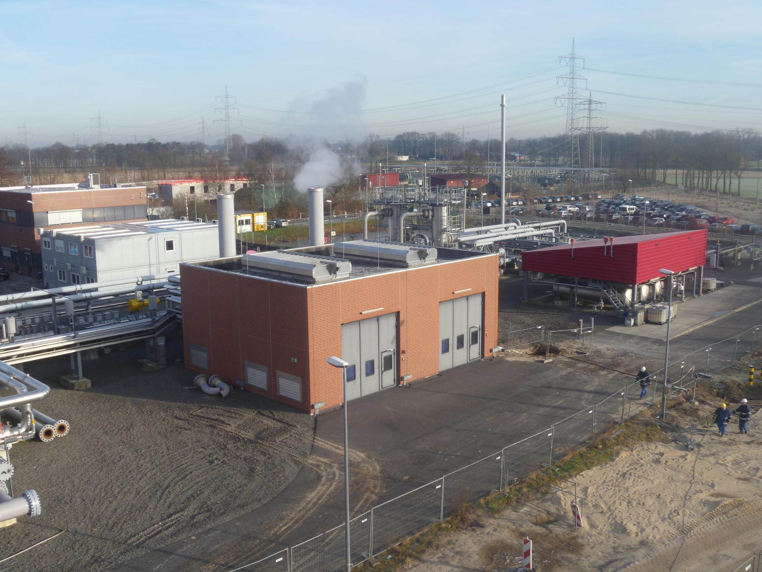 Projekat gasnog kompresora – Epe, Nemačka
